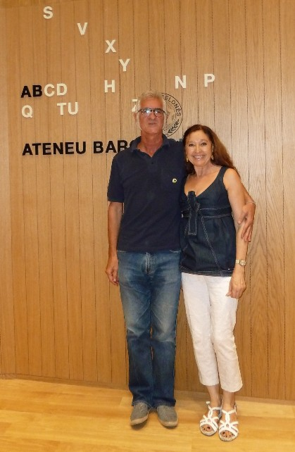Miguel Gallardo i Toni Rodríguez Yuste